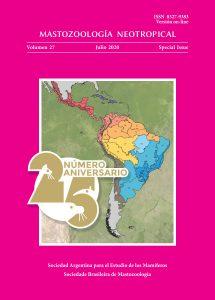 Cover of Mastozoología Neotropical Vol. 27 (SI) No. 0